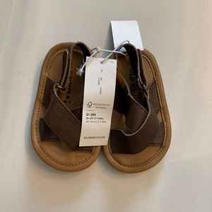 Old Navy Baby Sandals Size 0-3 months NWT